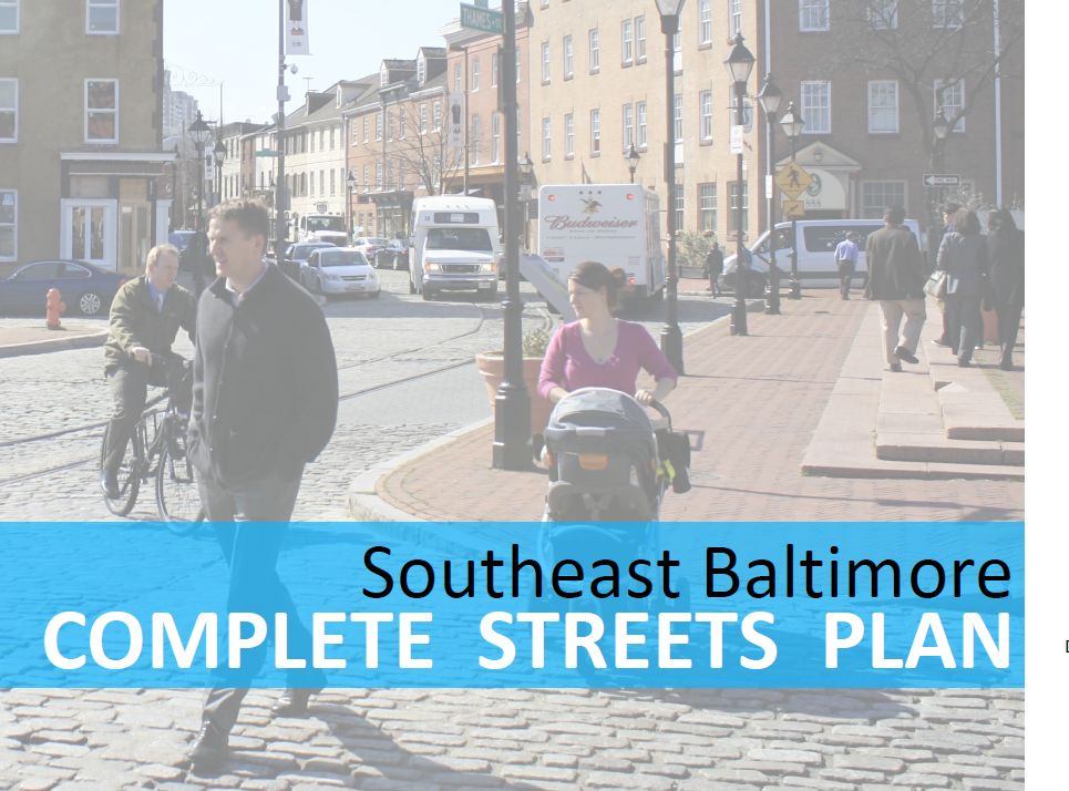 Southeast Baltimore Complete Streets Plan