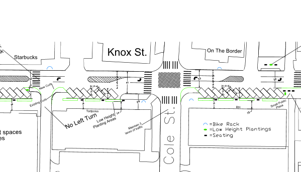 Knox Street Road Diet