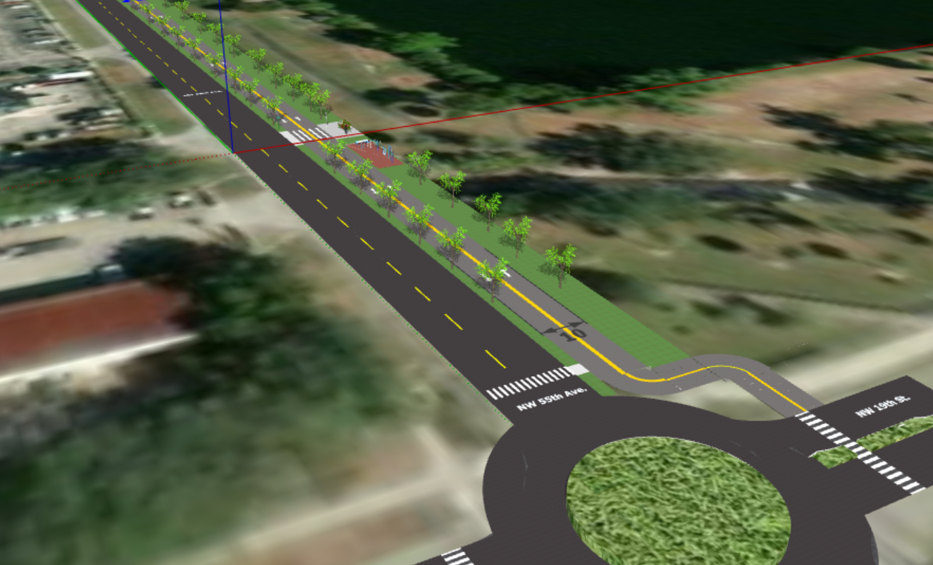 Shared Use Path Concept